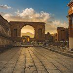 Ancient Trajan's market in Rome