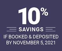 10 percent savings